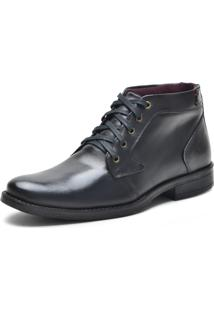 Bota Casual Over Boots Dallas Couro Soft Preto - Preto - Masculino - Dafiti