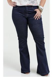 Marisa. Calça Feminina Jeans Flare Stretch ... c4762c22d46