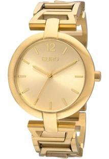 Relógio Feminino Euro Analógico - Unissex