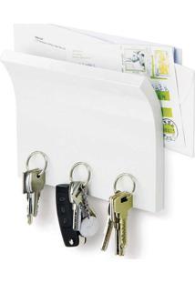 Porta Correspondencia Chaveiro Magnetico Magnetter Hg Branco Umbra