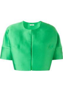 P.A.R.O.S.H. Jaqueta Cropped - Verde