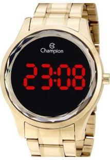 Relógio Champion Digital Feminino - Feminino-Dourado