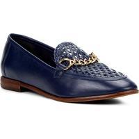 5e5d8ac075 Mocassim Couro Shoestock Tressê Feminino - Feminino