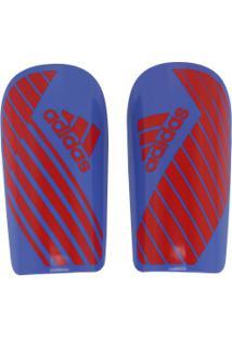 Caneleira De Futebol Adidas X Lesto - Adulto - Azul/Vermelho