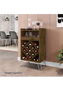 Bar Dior- Madeira Rãºstica- 88,5X48X36Cm- Becharabechara