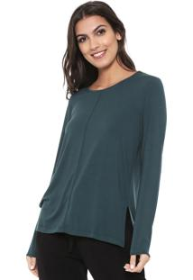 Camiseta Liz Easywear Recorte Verde