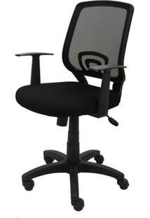 Cadeira Office Avila Preta Base Em Nylon - 20816 - Sun Hou