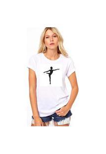 Camiseta Coolest Bailarina Branco