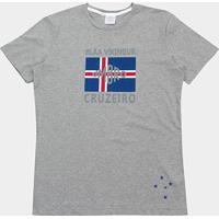Camiseta Cruzeiro Blar Vikingur Torcedor Umbro Masculina - Masculino 4ae988e91c5f2
