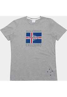Camiseta Cruzeiro Blar Vikingur Torcedor Umbro Masculina - Masculino 6a084d036a49c