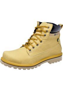 Bota Cr Shoes Cat Adventure Amarela
