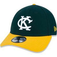 Bone 940 Kansas City Athletics Mlb New Era - Masculino-Verde 1a7f6ed8706