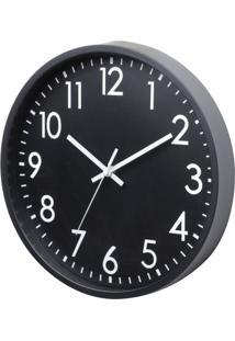 Relógio Ralph Preto E Branco 20X20X3,8 Cm