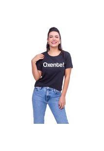 T-Shirt Oxente Preto
