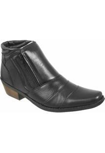 Bota Country Casa Do Sapato Lisa - Masculino