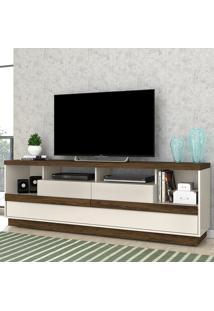 Rack Para Tv 2 Portas Valentina 505122 Off White/Savana - Madetec