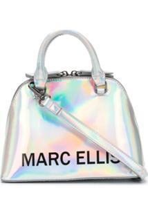 Marc Ellis Camiseta Com Efeito Holográfico - Prateado