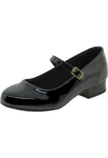 Sapato Infantil Feminino Molekinha - 2528101 Verniz/Preto 27