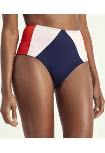 Biquíni Calcinha Hot Pants Texturizado Com Recortes