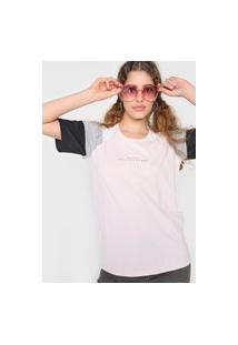 Camiseta Tricats Bit More Rosa