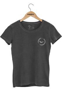 Camiseta Forseti Estonada Enviroment Chumbo