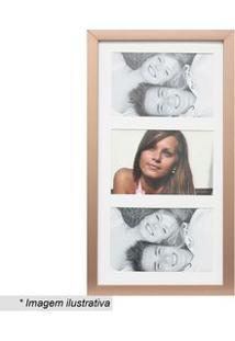 Kapos Painel Multifotos Insta Bronze & Branco 38X21X1,5Cm