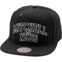 Boné Mitchell   Ness Snapback Arch Preto 192cb43fca8