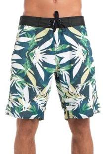 Boardshort Red Nose Geometric Florest Masculino - Masculino