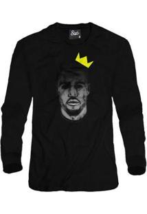 Casaco Moletom Skull Clothing Kanye King Masculino - Masculino-Preto