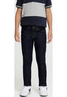 Calça Infantil Jeans Bolsos Stretch Mr