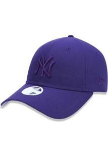 Boné New York Yankees Tonal Feminino Roxo New Era - Unissex
