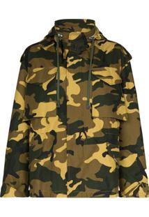 Reebok X Victoria Beckham Jaqueta Militar Camuflada - Verde