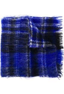 Marni Cachecol Com Padronagem - Azul