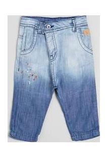 Calca Bb Jeans Saruel Silk Reserva Mini