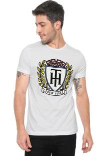 bed1738f2c Dafiti Sports. Camiseta Tommy Hilfiger Crest Fashion Branca