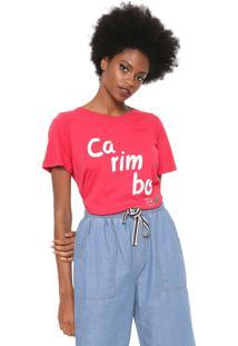 Camiseta Cantão Carimbó Pink