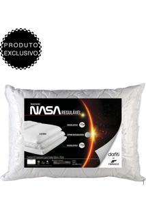 Travesseiro Fibrasca Nasa Regulável 3 50X70Cm Branco