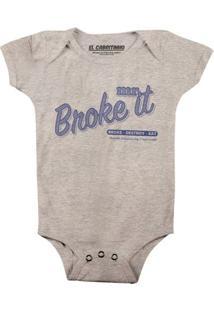 Mr. Broke It - Body Infantil