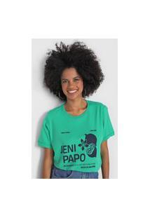 Camiseta Cantão Jenipapo Verde