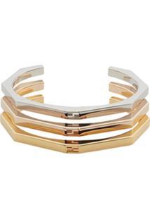 Fendi Bracelete 'Baguette' - Metálico