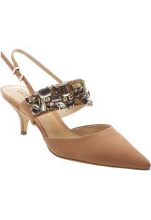 59765f5a8 Sapato Chanel Em Couro - Marrom Claroschutz