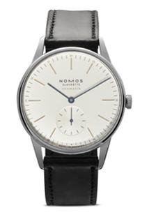 Nomos Glashütte Relógio Orion 38Mm - White, Silver-Plated