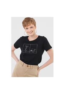 Camiseta Cantão Insonia Preta