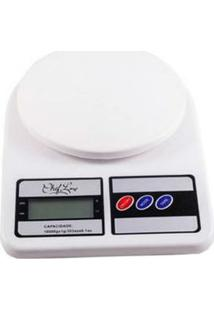 Balança Digital De Cozinha 10 Kg Branca