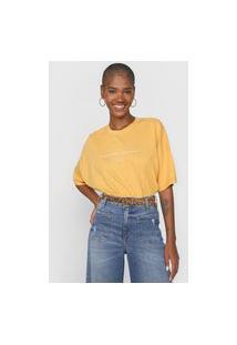 Camiseta Colcci Responsible Conscience Amarela