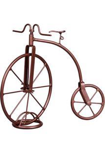 Triciclo Decorativo Retrô Bronze