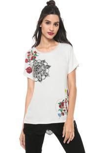 Camiseta Desigual Oporto Off-White