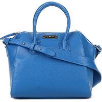 4d14ea12d Bolsa Couro Luiza Barcelos Mini Bag Viena Feminina - Feminino-Azul