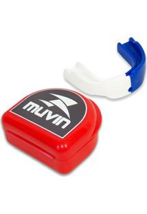 Protetor Bucal Pro Dual Color Muvin Ptb 200