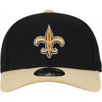 Boné New Era 9Forty New Orleans Saints - Snapback - Adulto - Preto dfca08b07f5